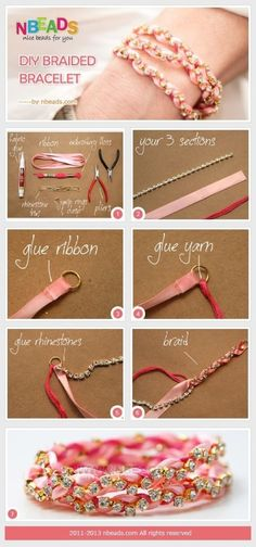 DIY手链饰品教程