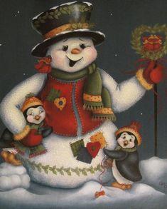 debby - Jacqueline Buriche - Álbuns da web do Picasa Photo Ornaments, Beaded Christmas Ornaments, Christmas Snowman, Christmas Drawing, Christmas Paintings, Pintura Tole, Christmas Photo Booth, Decoupage, Printable Adult Coloring Pages