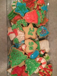 Homemade Christmas cookies decorated with @LandonBerry2 @natterfats  & @synderbop