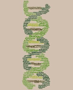 Biology Word Cloud TShirt by LuvThatTee on Etsy, $19.99