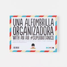 Alfombrilla organizadora - 60 hojas