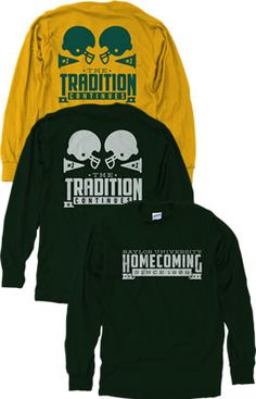 ICYMI: the official #BaylorHomecoming 2014 apparel is out!