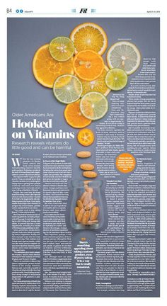 Older Americans Are Hooked on Vitamins|The Epoch Times Ameri. Older Americans Are Hooked on Vitamins|The Epoch Times Crea Design, Design Blog, Ad Design, Book Design, Design Posters, Page Layout Design, Magazine Layout Design, Magazine Layouts, Newspaper Layout