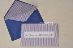 Cartão duplo com envelope forrado – Listras azuis  :: flavoli.net - Papelaria Personalizada :: Contato: (21) 98-836-0113 vendas@flavoli.net
