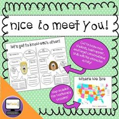A fun rapport-building activity for your first sessions with new students!