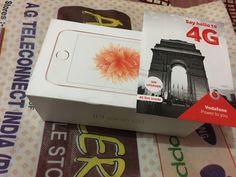Got my new 4G phone with Voda 4G sim.