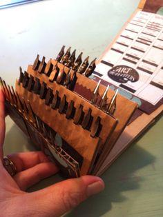 Anne Elser: Calligraphy Nib Book