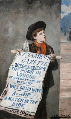 Augustus_Edwin_Mulready_A_London_Newsboy.jpg 1,591×2,640 pixels