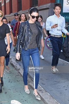 Television personality Kendall Jenner is seen on August 29, 2014 in New York City.