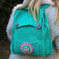 Crochet Backpack Purse Pattern Wanderlust Tas Tassen En Haken