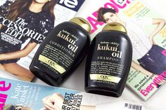 Ramblings of a Beauty Bird: The Must Have Duo for Dry, Frizzy Hair: OGX Kukui Oil Shampoo and Conditioner