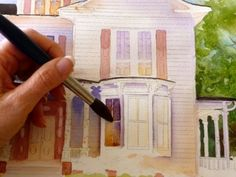 Learning watercolor