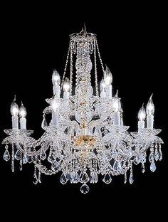 Traditional Chandeliers Gallery Model: TEMP 12L