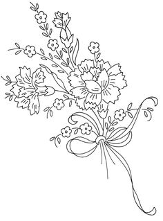 Embroidery Pattern via Flickr. jwt