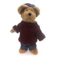 Boyds Bears Plush Leo Bruinski Teddy Bear