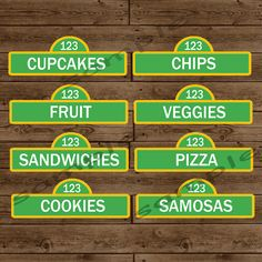 Hey, I found this really awesome Etsy listing at http://www.etsy.com/listing/126077825/sesame-street-personalized-food-labels