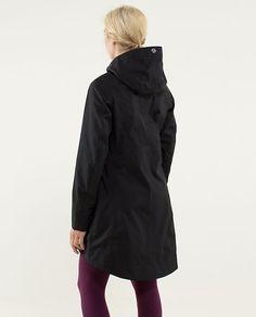 Lululemon Ride On Rain Jacket in Orange. - sweet feminine rain ...