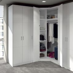 New corner wardrobe closet ideas 35 ideas Corner Wardrobe Closet, Walk In Closet Ikea, Wardrobe Design Bedroom, Master Bedroom Closet, Bedroom Wardrobe, Master Bedrooms, Closet Small, Bedroom Corner, Ideas Armario