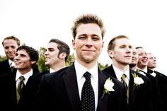 Weekend Mountain Wedding: Mr.  Espresso and his groomsmen