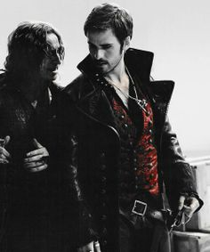 Dark Captain (I just made that up)<< I'm not sure if I ship it.... I already ship Captain Swan