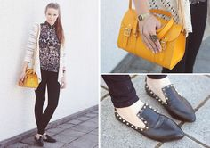 <3 Shoes  (by Juule Kay) http://lookbook.nu/look/3988022-STUDDED-SAFRAN-LEO