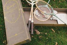 Great Gatsby Wedding Badminton Game Wedding Reception Games