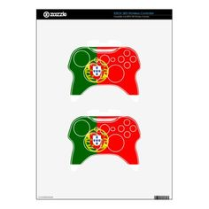 #Low Cost! Portugal Flag Xbox 360 Controller Skin - #travel #electronics