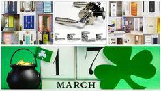 St. Patricks Day One Day Sale ! 17% OFF Entire Order. Includes : interior doors,exterior doors and door handles ! Sale Valid 3/17/2016 www.shop.libertywindoors.com