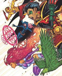 Teen Titans By Jonboy Meyers  #teentitansgo #teentitans…