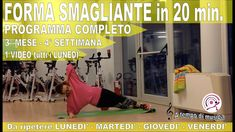 Allenamento HIIT in forma in 5 mesi in 20 Minuti 3° MESE  - 4° SETTIMANA 20 Min, Hiit, Gym Equipment, Sports, Shape, Hs Sports, Excercise, Workout Equipment, Sport