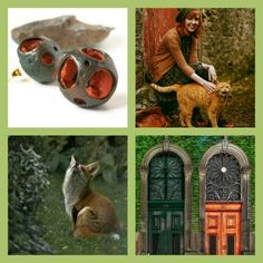 Another rainy day?! In summer I love even rainy days :) #green #wood #Woodland #fox #nature #naturaljewelry #natureshapes #hollow #globes #meteor #meteorite #earrings #polymerclay #polymerclayjewelry #polymerclaycreations https://goo.gl/a5eiRX