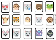 Memory to powszechnie znana i lubiana gra, którą chętnie wykorzystujemy w pracy z dzieckiem. Wersja, którą przygotowałam, może stanowić praktyczne narzędzie do prowadzenia edukacji emocjonalnej…Przeczytaj więcejEmocje w Zoo – MEMORY do pobrania + 3 wersje gry