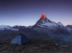 4) Morning Fire of Matterhorn