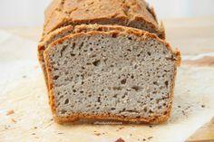 Pan sin gluten de trigo sarraceno y pipas de girasol
