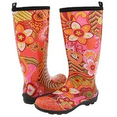 rainboots love the beautiful bright colors!