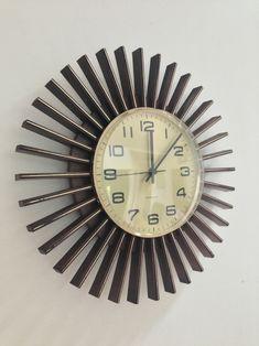 Sunburst Clock.