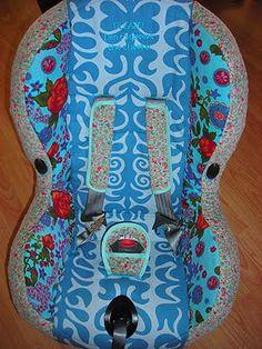 A Colourful LIfe: Beschrijving maxi cosi bekleden van oude blog