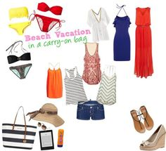 Packing list bech vacation