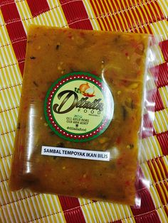 Sambal Tempoyak Ikan Bilis  Rm12