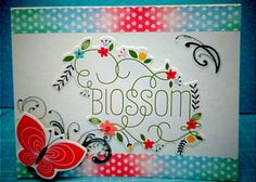 In full bloom Card Making, Bloom, Cards, How To Make, Maps, Handmade Cards, Playing Cards, Cards To Make, Letter Crafts