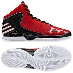 buy popular a1d8b 755db Derrick Rose, Adidas Mannen, Adidas Schoenen, Schoenen Sneakers,  Scharlaken, Herenschoenen,