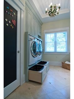 Browse laundry room ideas and decor inspiration. Discover designs for custom laundry rooms and closets, including utility room organization. Laundry Room Remodel, Laundry In Bathroom, Laundry Rooms, Mud Rooms, Small Laundry, Bathroom No Window, Small Bathroom, Laundry Closet, Laundry Room Organization