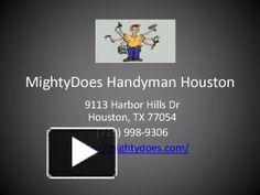 MightyDoes Handyman Houston #mightydoes #handymanservices #handyman #handymanhouston