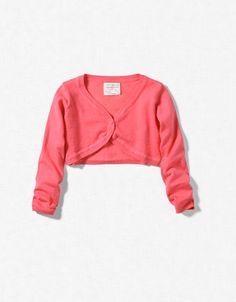 Knitted baby bolero from Zara