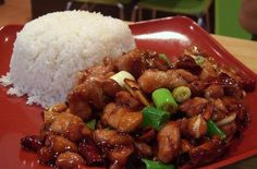 Crazy Good Kung Pao Chicken - This was really easy and really good!  I left out the green onions but would add them next time.  Would also add more chili garlic sauce for more kick. -Allison
