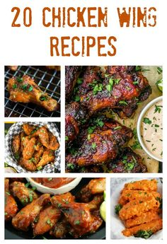 Chicken wings are a delicious appetizer, snack, dinner or party food that everyone enjoys. If you are craving wings, then check out these mouthwatering chicken wing recipes, featuring hot wings, garlic parmesan wings, honey bbq wings, buffalo wings, chipo