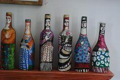 Bottle ladies - Lydia Corbett