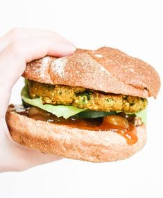 Curried Chickpea Quinoa Veggie Burgers - Orchard Street Kitchen