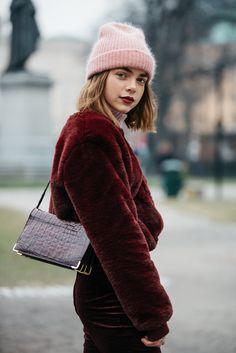 Burgundy Fall Fashion the Locals (stockholm)