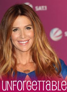 Poppy Montgomery celebrated the birth of her daughter Violet Rose and the return of her series Unforgettable on CBS